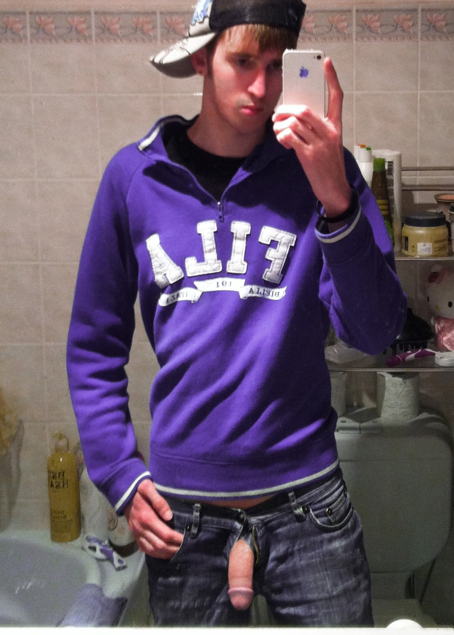 Cute Guy With A Hard Cut Cock