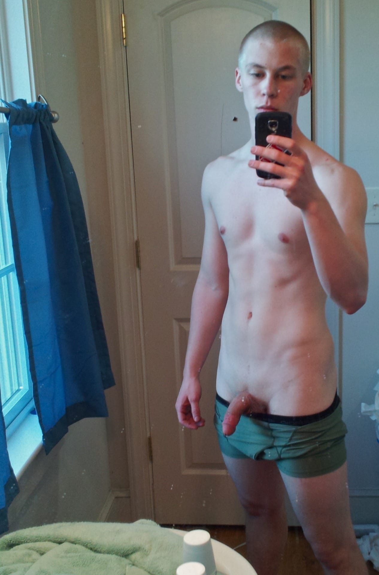 Nice Teen And His Dick
