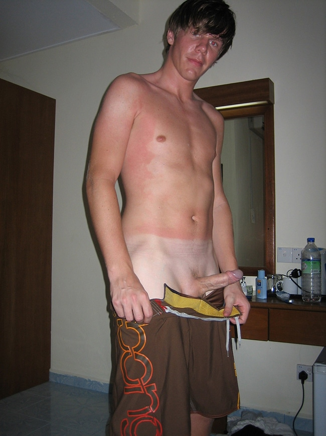 from Vicente naked twinks tan lines
